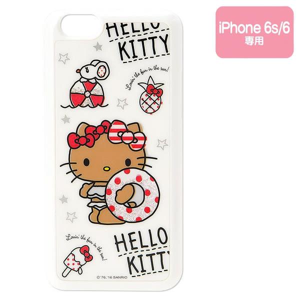 Hello Kitty手機殼 Hello Kitty iphone6/6S白色硬式手機殼/保護殼/背蓋 [喜愛屋]