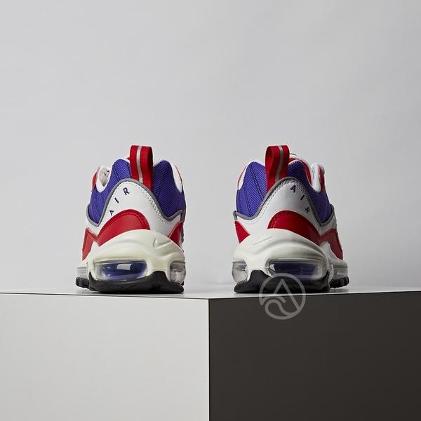 Nike Air Max 98 女鞋 紫黑 復古 氣墊 慢跑鞋 休閒鞋 AH6799-501