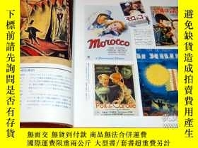 二手書博民逛書店Vintage罕見Cinema poster book japan, japanese, antique, mov