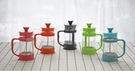 耐熱玻璃法壓壺沖茶器咖啡壺手沖咖啡一人份...