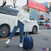 【Bbay】 旅行袋 行李袋 大容量 手提箱 拉桿包