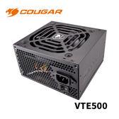 COUGAR 美洲獅 VTE500 80 PLUS 銅牌 500W 電源供應器