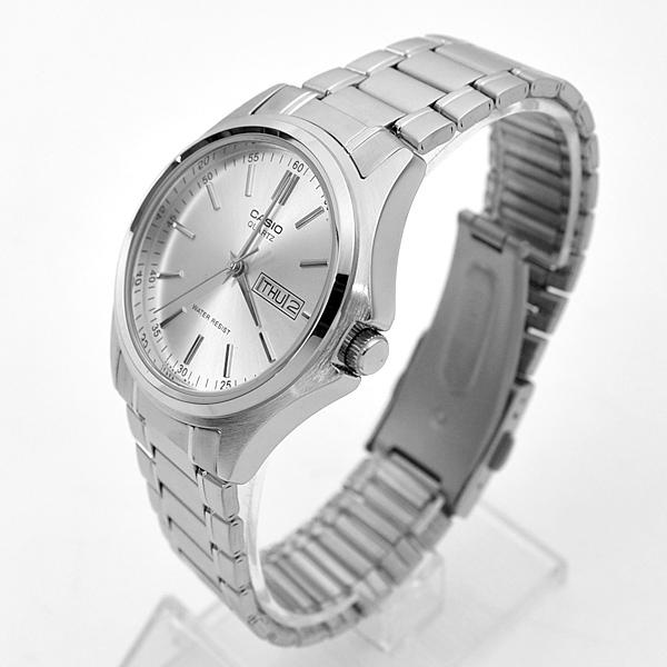 CASIO手錶 極簡風格日期窗鋼錶NECE51
