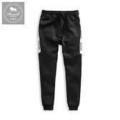 【Roush】 側邊膠印機能性束口棉褲 -【2025839】