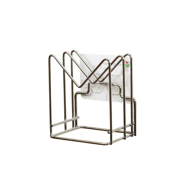 新304不鏽鋼保固 鍋蓋架 砧板架 家而適 瀝水架 置物架 廚房收納架(1213) 奧樂雞 限量加購