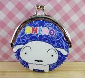 【震撼精品百貨】蠟筆小新_Crayon Shin-chan~小新零錢包/收納袋-小白藍#00992