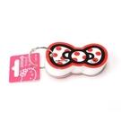 Sanrio HELLO KITTY緞帶文具系列造型單字卡(白)★funbox生活用品★_UA42402