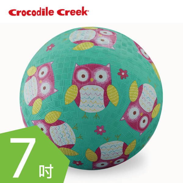 Crocodile Creek 7吋兒童運動遊戲球(19cm) 親親貓頭鷹