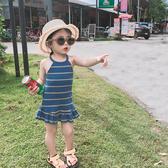 女童洋裝 童裝超洋氣女童連衣裙2020新款韓版吊帶背心裙寶寶夏裝公主裙子潮