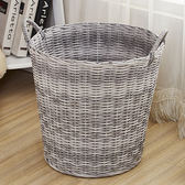 大號塑料編織筐浴室收納籃玩具