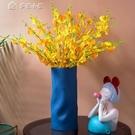 花瓶北歐陶瓷花瓶創意家居客廳插花裝飾莫蘭迪簡約玄關桌面電視柜擺件YYS 快速出貨