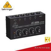 【金聲樂器】Behringer MICROAMP HA400 耳機分配器