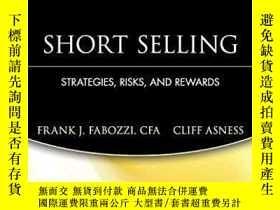 二手書博民逛書店Short罕見SellingY256260 Frank J. Fabozzi Wiley 出版2004