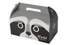 {浣熊}動物造型手提8K野餐盒(50個/組)