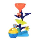 寶寶洗澡玩具齒輪搖擺水車兒童浴室戲水玩水沙灘沙漏轉轉樂玩具