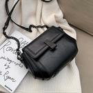 斜背包包高級感包包質感女包新款2020韓版時尚洋氣百搭鍊條側背斜背小方包 嬡孕哺
