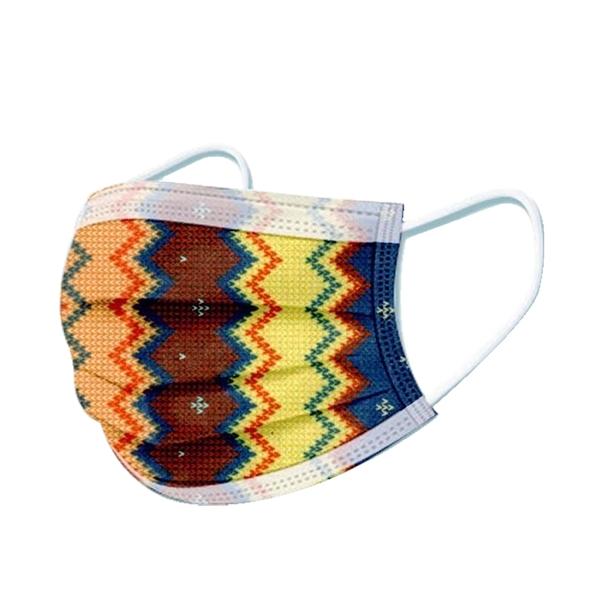 文賀生技醫用口罩 (未滅菌)-三層醫療口罩-編織夢想系列-祈願湛藍 30入/盒