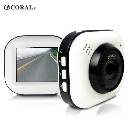 [富廉網]【CORAL】輕巧型 G-Sencer 行車紀錄器 DVR-628P (送8G記憶卡)