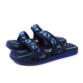 G.P (GOLD PIGEON) 阿亮代言 拖鞋 防水 雨天 藍色 男鞋 G0573M-20 no039