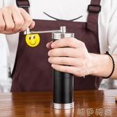 手搖咖啡機不銹鋼磨豆機咖啡豆磨手搖黑胡椒研磨器手磨胡椒粒可水洗手動 交換禮物