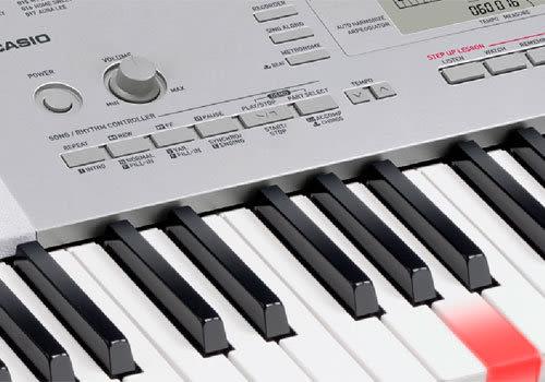 【金聲樂器廣場】全新 CASIO LK-280 魔光教學 電子琴 送琴架及原廠延音踏板