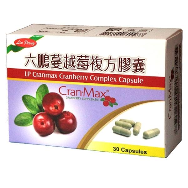 六鵬 蔓越莓複方膠囊(30顆/盒)x1