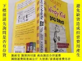 二手書博民逛書店diary罕見of a wimpy kid dog days:一個懦弱的孩子的日記 三伏天Y212829 不祥