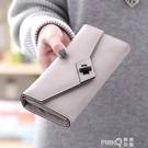 2020新款錢夾韓版日系大容量學生簡約百搭原創手拿女INS長款錢包 (pinkq 時尚女裝)
