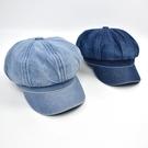 報童帽 刷色牛仔中性NHG17