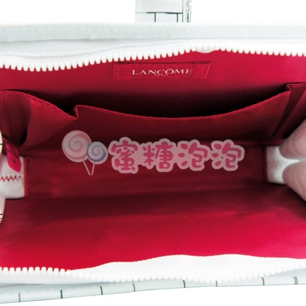 ◎蜜糖泡泡◎LANCOME 蘭蔻 時尚法式手拿包