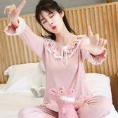 月子服夏薄款產後純棉產婦春秋季全棉吸汗喂奶哺乳衣孕婦睡衣套裝 東京衣秀