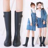 水鞋雨鞋水靴雨靴鞋中筒時尚防滑膠鞋【大小姐韓風館】