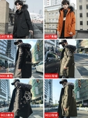 棉衣男士外套冬季2020新款韓版中長款大衣ins羽絨棉服毛領棉襖潮