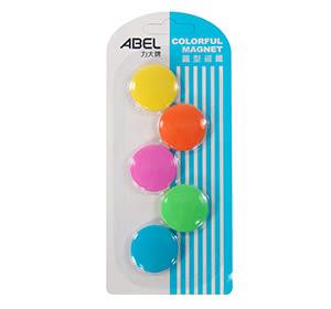 ABEL 30mm彩色磁鐵 5入