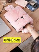 暖手滑鼠套 暖手滑鼠墊usb插電發熱滑鼠套帶護腕雙面絨可拆洗 歐歐流行館