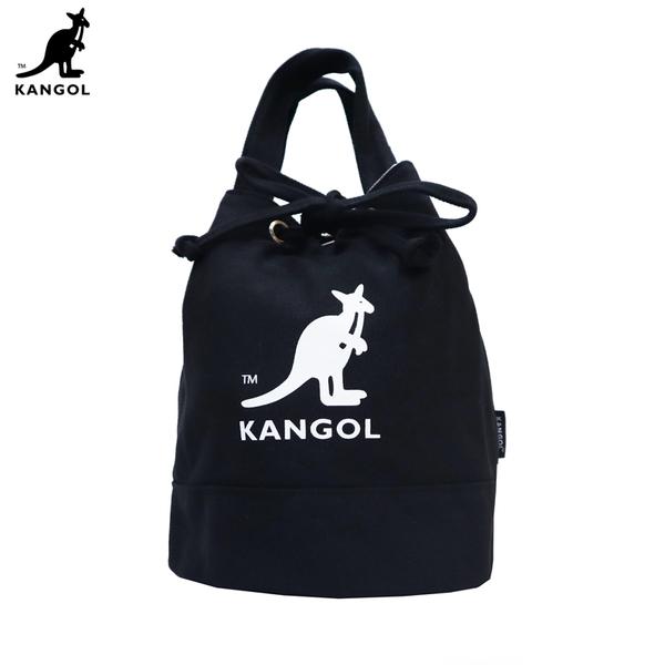 【現貨】KANGOL 側背肩背 卡其 咖啡 米色 黑色 手提 側背 四色 水桶包 大容量 必備 交換禮物 大容量