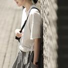 L造型上衣  不規則下擺白色-月兒的綺麗莊園