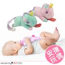 卡通動物造型寶寶安撫玩偶 可繫奶嘴