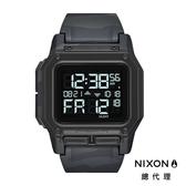 【酷伯史東】NIXON THE REGULUS 美國特種部隊認證錶 指定款 第二時區 美式風格 潛水錶 黑 迷彩