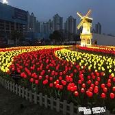 太陽能led發光麥穗燈地插蘆葦燈戶外防水裝飾花園草坪公園景觀燈 ATF 喜迎新春