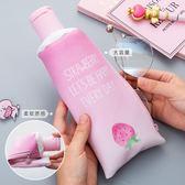 創意韓國筆袋簡約女生小清新可愛初中生新高中鉛筆盒大學生文具盒 9號潮人館
