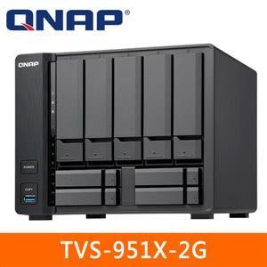 【綠蔭-免運】QNAP TVS-951X-2G 網路儲存伺服器
