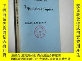 二手書博民逛書店Topological罕見Topics(拓撲學論題) 【英文版】