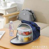 便當袋飯盒包側背包防水女包手拎便當包飯盒袋便當盒帶飯包帆布保溫袋子 科炫數位