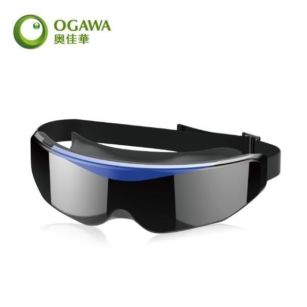 【南紡購物中心】【OGAWA】USB舒眼按摩器OG-3103  科技藍