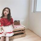 吊帶裙 女童中大童夏款新款韓國范潮流文藝淑女風吊帶裙套裝洋氣時髦