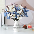 裝飾假花擺件餐桌花電視柜干花擺設室內盆栽仿真花藝塑料插花【時尚大衣櫥】