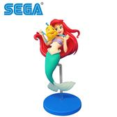 【日本正版】小美人魚 SPM 公仔 模型 愛麗兒 Ariel 21cm SEGA 迪士尼 Disney - 341351