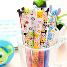 日本進口 正版迪士尼雙色造型筆(TSUM TSUM款) 原子筆 疊疊樂 日貨 米奇 米妮 史迪奇 維尼