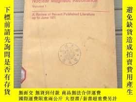 二手書博民逛書店nuclear罕見magnetic resonance volume 1(P1715)Y173412